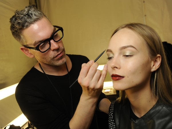 #NYFW Backstage Beauty: Naeem Khan Fall 2014