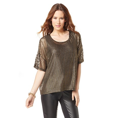 nene-by-nene-leakes-hsn-textured-metallic-top-glamazons-blog