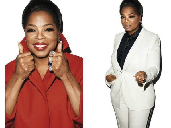Get The Look: Oprah Winfrey's Bronze Makeup in Harper's Bazaar!