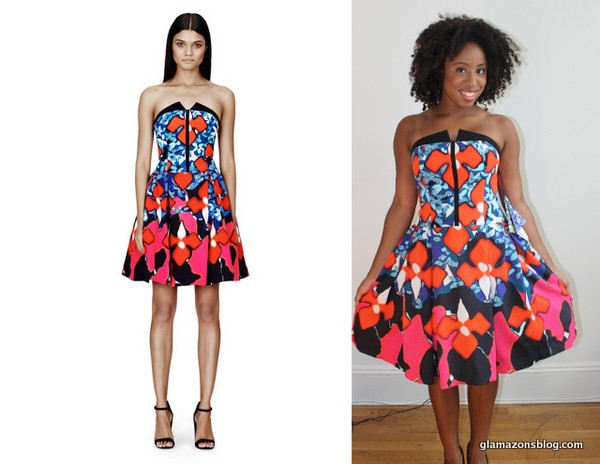 Peter Pilotto For Target Jacquard Dress In Red