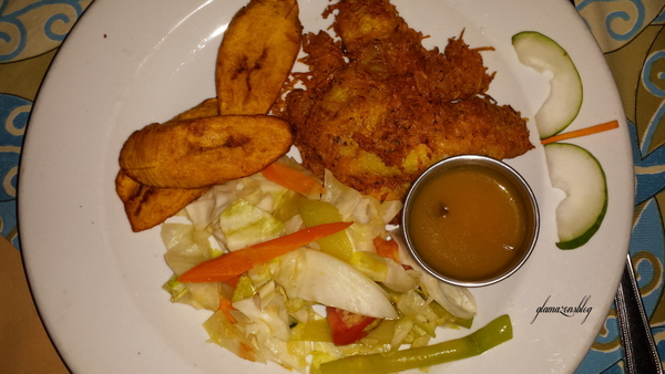 pier-one-restaurant-montego-bay-jamaica-coconut-crusted-fish-glamazons-blog