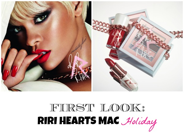 FIRST LOOK! Rihanna x MAC Cosmetics Holiday