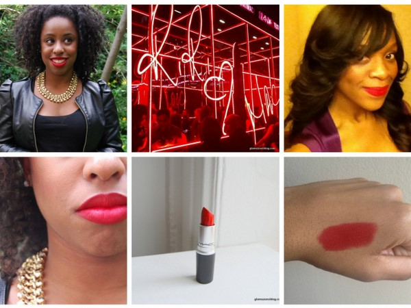 Beauty Review: Rihanna's 'RiRi Woo' for MAC PLUS RiRi Woo vs. Ruby Woo