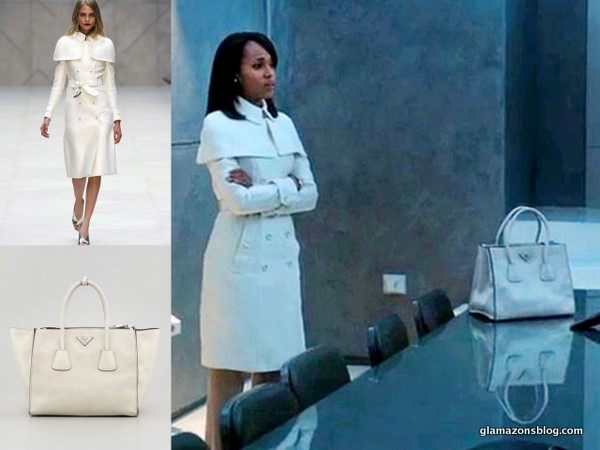 scandal-fashion-burberry-white-caped-dust-coat-prada-twin-pocket-tote-olivia-pope