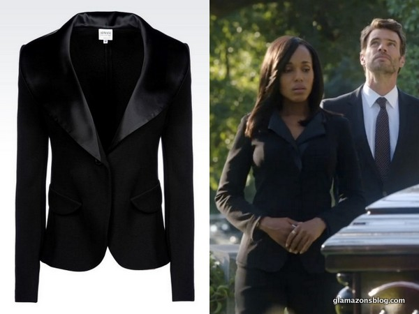 Scandal Fashion Recap: Olivia Pope's Dior Sunglasses, Gucci Gray Coat and Armani Black Suit