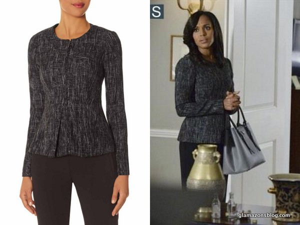 Scandal Fashion Recap: Olivia Pope's Scandal x The Limited Jacket and Valentino Rockstud Boots