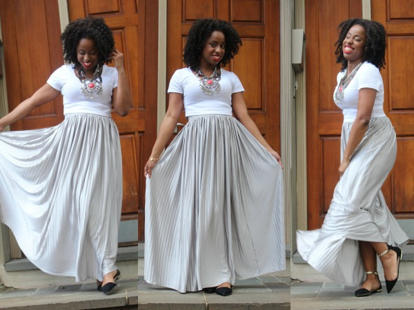 What I Wore: Silver Belle #SPSBrunch