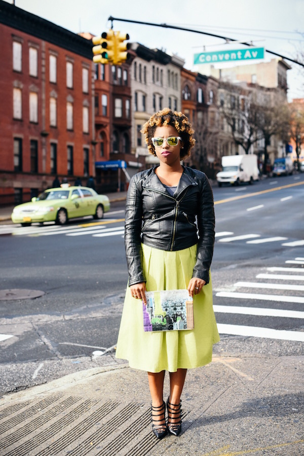street-style-asos-neon-skirt-leather-jacket-christian-louboutin-pumps-tibi-empire-pouch-mirror-lens-sunglasses-dress-up-with-jess-jessica-c-andrews-glamazons-blog-2