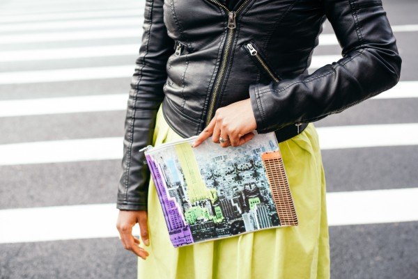 street-style-asos-neon-skirt-leather-jacket-tibi-empire-pouch-dress-up-with-jess-jessica-c-andrews-glamazons-blog
