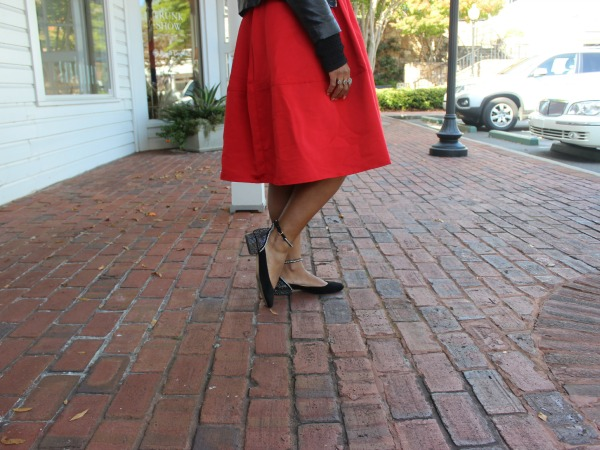 What I Wore: Red Light at the Mandarin Oriental @MO_Atlanta #GlamazonTravel