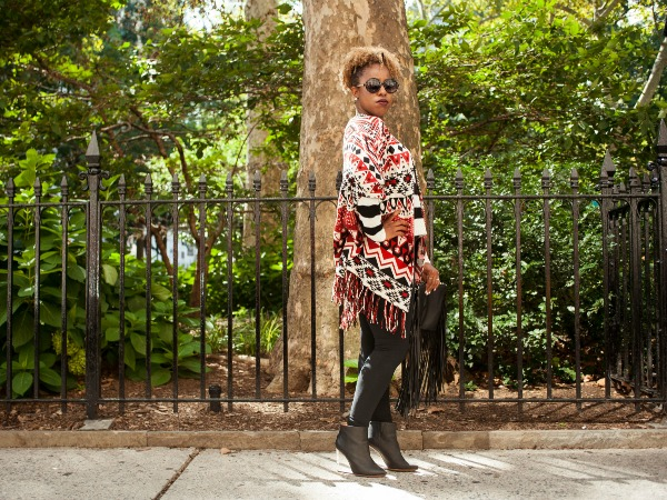 What I Wore: Mixing Prints Is So Much Easier in the Fall #OOTD