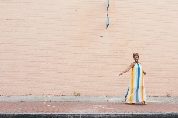 Street Style Maxi Dress