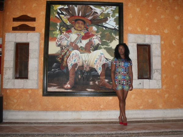 What I Wore: Aztec Print in Mexico at @Eurostars Hotels #GlamazonTravel