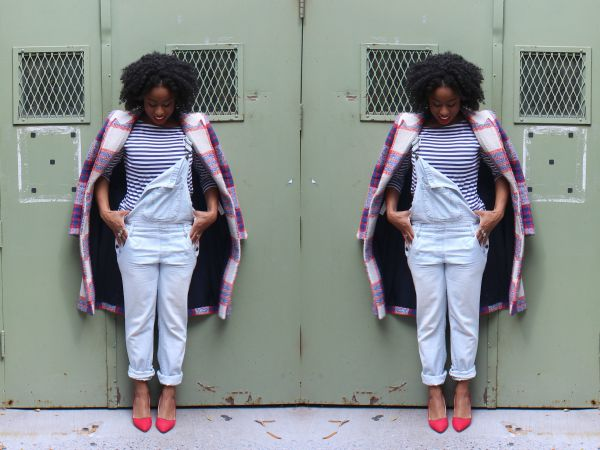 street-style-overalls-plaid-stripes-overalls-jessica-c-andrews-glamazons-blog