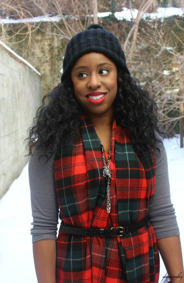 street-style-snow-belt-wrapped-around-scarf-plaid-scarf-patricia-field-money-clutch-beanie-hat-just-fab-zyree-glamazons-blog-18-edit