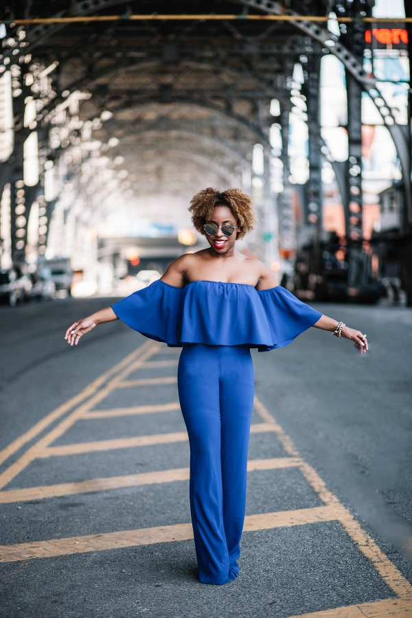 street-style-zara-off-shoulder-blue-jumpsuit-christian-louboutin-leopard-sandals-missguided-mirrored-silver-sunglasses-jessica-c-andrews-glamazons-blog-6