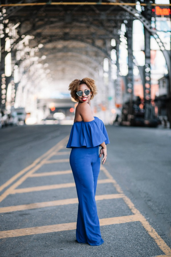 street-style-zara-off-shoulder-blue-jumpsuit-christian-louboutin-leopard-sandals-missguided-mirrored-silver-sunglasses-jessica-c-andrews-glamazons-blog-7