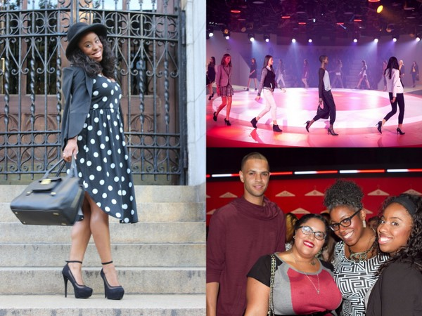 A Day In The Life: #TargetStyle Fashion Show PLUS How I Wore Their Black and White Trend