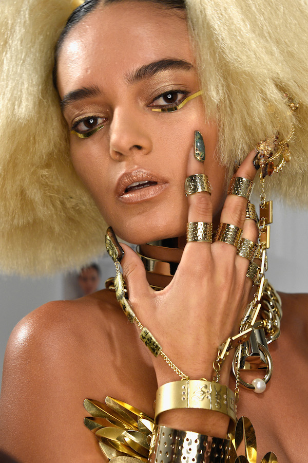 The Blonds New York Fashion Week CND Nails
