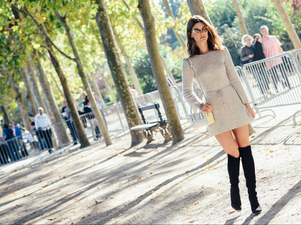 ASK THE GLAMAZONS: How To Wear Over The Knee Boots And Not Look Like a Streetwalker