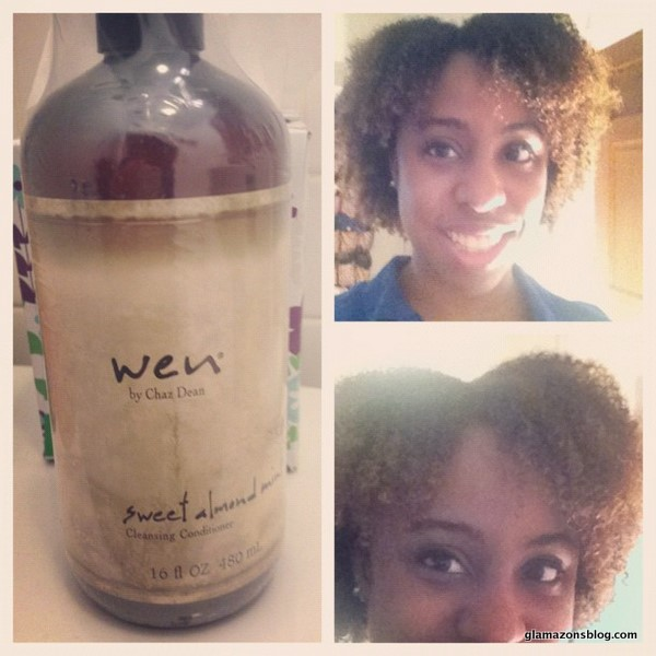 Wen by chaz dean sweet almond mint