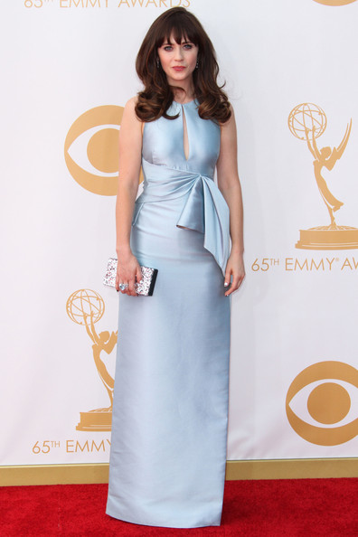 Zooey Deschanel Emmy 2013 What They Wore: 2013 E...